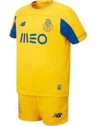 New balance mini kit oficial f.c.porto away 2019/2020 jr