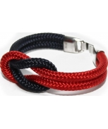 Cabo d'mar reef knot navy/red